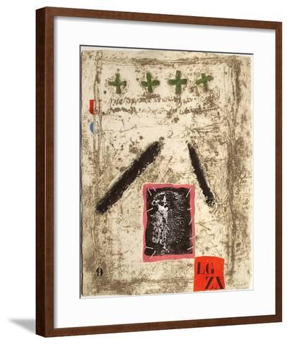 Nous sommes de terre I-James Coignard-Framed Art Print