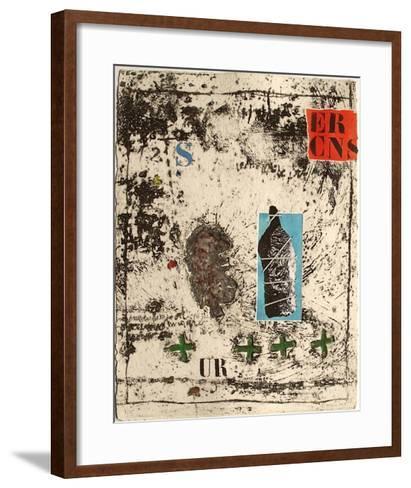 Nous sommes de terre II-James Coignard-Framed Art Print