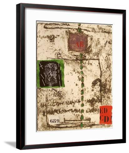Nous sommes de terre III-James Coignard-Framed Art Print