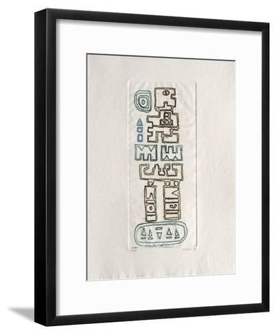Le coeur au repos I-Jacques Soisson-Framed Art Print