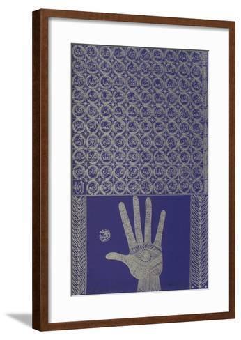 Hommage ? R?mi I-Rachid Koraichi-Framed Art Print