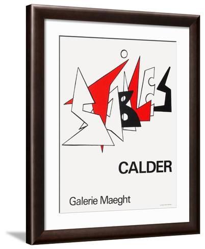 Expo 63 - Galerie Maeght-Alexander Calder-Framed Art Print