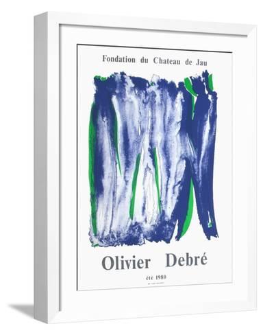Expo Château de Jau-Olivier Debre-Framed Art Print