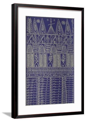 Hommage ? R?mi VII-Rachid Koraichi-Framed Art Print