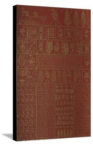Hommage ? Ibn El Arabi III-Rachid Koraichi-Stretched Canvas Print