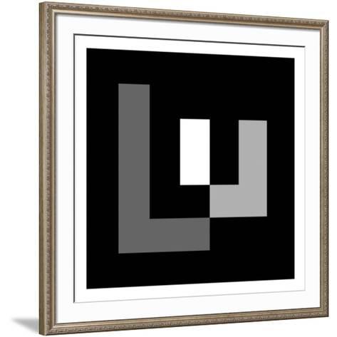2010- Sans titre 1-Ian Tyson-Framed Art Print