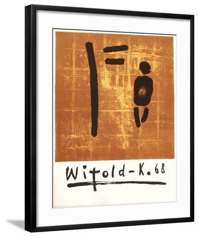 Witold-K.68-Witold Kaczanowski-Framed Art Print