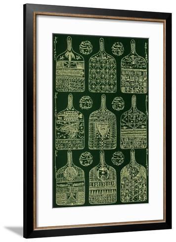 Hommage ? Cheikh Sidi Ahmed Tidjani III-Rachid Koraichi-Framed Art Print