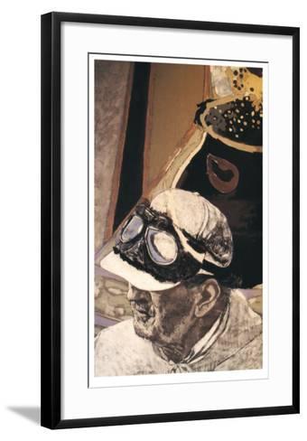 Autoportrait I-Jean Le Gac-Framed Art Print