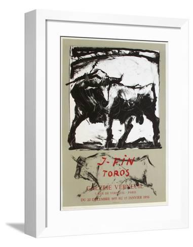 Expo Galerie Verneuil-Jos? Vilato Ruiz Fin-Framed Art Print