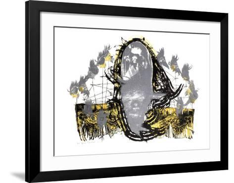 Jivaro avec dentelles-Guillermo Arizta-Framed Art Print