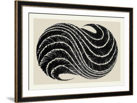 Souira II-Najia Mehadji-Framed Art Print