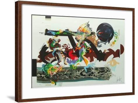 Jazz - Count Basie-Raymond Moretti-Framed Art Print