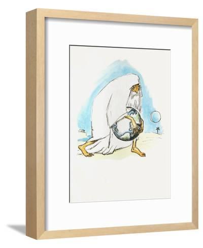 La R?volte des Anges 38 (Suite couleur)-Kees van Dongen-Framed Art Print