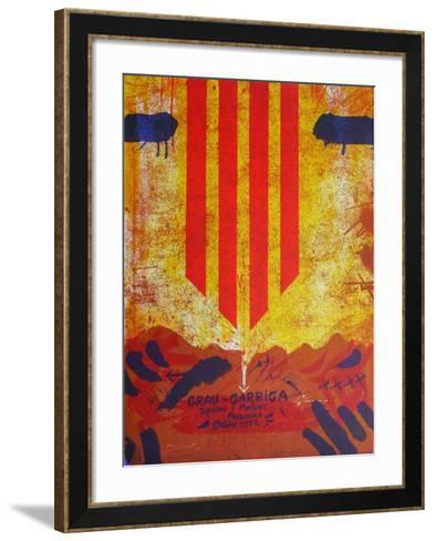 Expo Andorra-Josep Grau-garriga-Framed Art Print