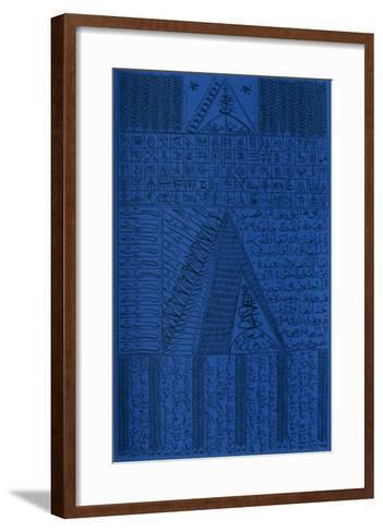 Hommage ? Rabia Al Adawiyya V-Rachid Koraichi-Framed Art Print