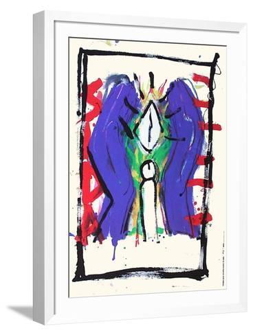 Images pour la lutte contre le sida-Paul Br?hwiler-Framed Art Print