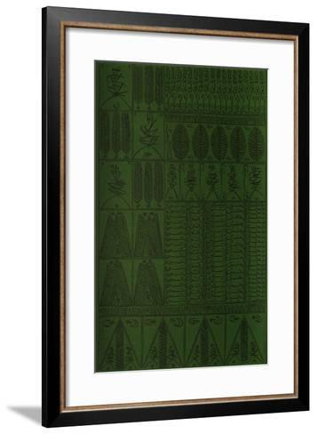 Hommage ? Cheikh Al Alawi Al Moustaghanami VII-Rachid Koraichi-Framed Art Print