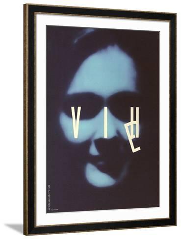 VIE-VIH-Werner Jeker-Framed Art Print