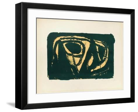 MP 023-Bram van Velde-Framed Art Print