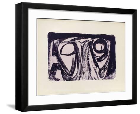 MP 024-Bram van Velde-Framed Art Print