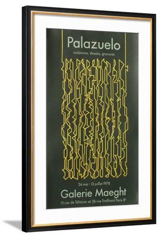 Expo 78 - Galerie Maeght-Pablo Palazuelo-Framed Art Print