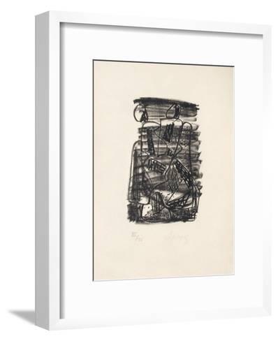 Portraits V : L'Ang?lus-Charles Lapicque-Framed Art Print