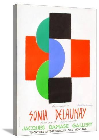 Expo 75 - Galerie Jacques Damase-Sonia Delaunay-Terk-Stretched Canvas Print