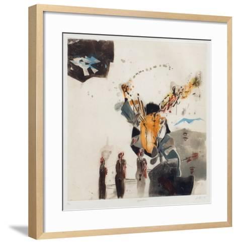 Eingeschlossen-Karl Brandst?tter-Framed Art Print
