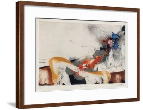 Liegende-Karl Brandst?tter-Framed Art Print