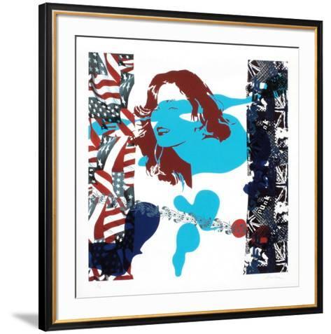 Bleu-Ivan Messac-Framed Art Print