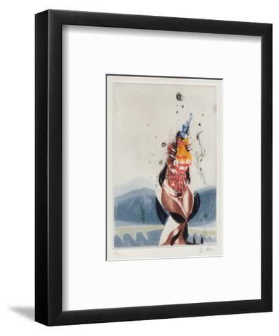 Frau II-Karl Brandst?tter-Framed Art Print