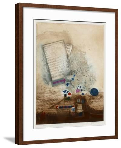 Envol?e-Nissan Engel-Framed Art Print