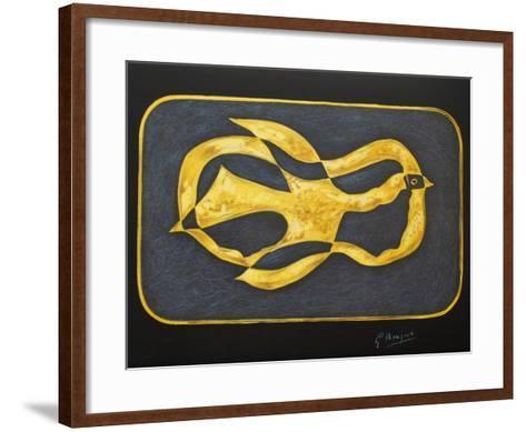 M?tamorphoses 07-Georges Braque-Framed Art Print