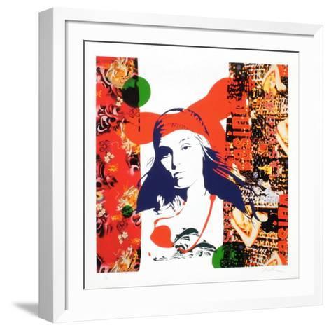 Rouge-Ivan Messac-Framed Art Print