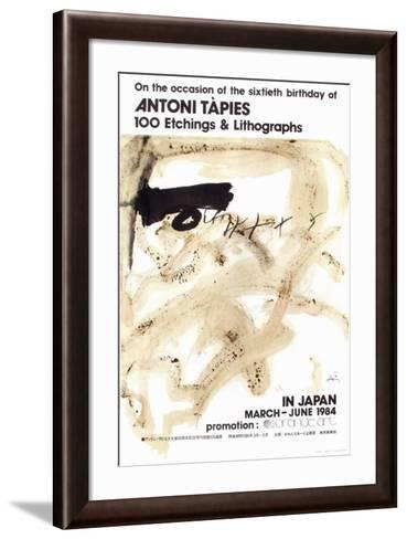 Expo 84 - In Japan-Antoni Tapies-Framed Art Print