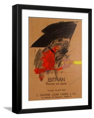 Expo 90 - Galerie Louis Carr?-Albert Bitran-Framed Art Print