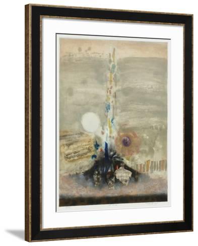 La source-Nissan Engel-Framed Art Print