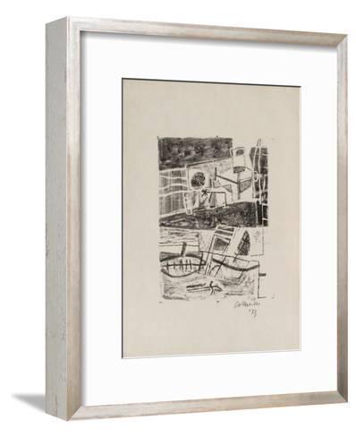 Le guerrier-Guillaume Corneille-Framed Art Print