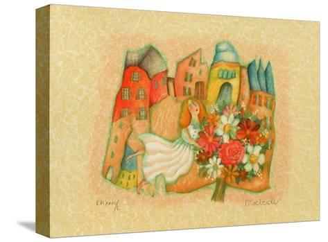 Les mari?s III-Francoise Deberdt-Stretched Canvas Print