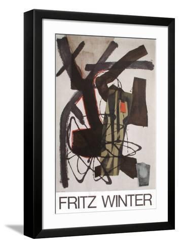 Expo Fritz Winter-Fritz Winter-Framed Art Print