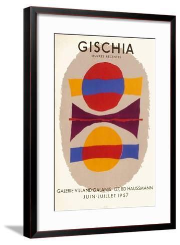 Expo 57 - Galerie Villand-Galanis-L?on Gischia-Framed Art Print