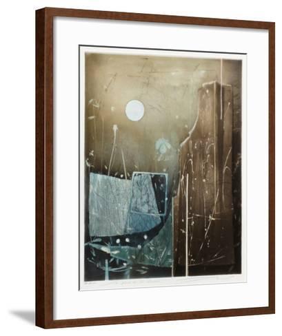 Les pierres de la m?moire--Framed Art Print