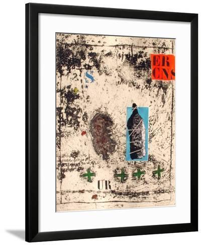 Ouverture verte-James Coignard-Framed Art Print