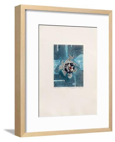 Aigue marine--Framed Art Print