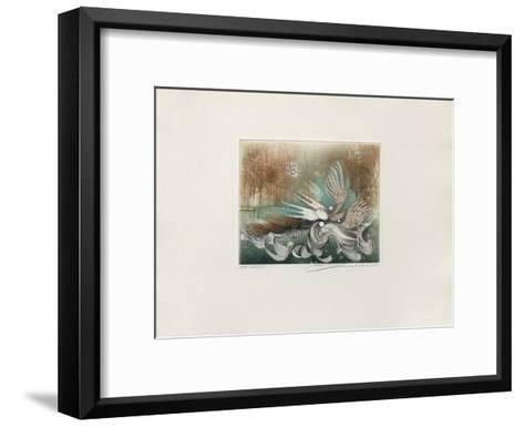 Les oiseaux--Framed Art Print