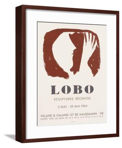 Expo 64 - Galerie Villand & Galanis-Baltasar Lobo-Framed Art Print