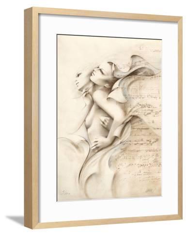 Complicit? II-Gerard Daran-Framed Art Print