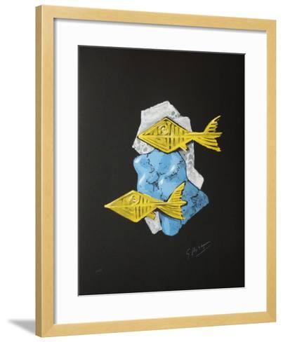 Métamorphoses 12-Georges Braque-Framed Art Print