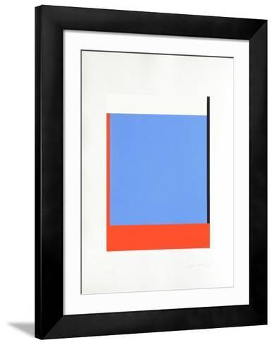 Avec droitesse-Aur?lie Nemours-Framed Art Print